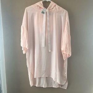 Short Sleeve Hooded Shirt 👚